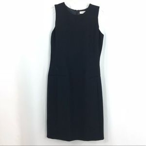 NWT Calvin Klein Sheath Dress Black Size 6